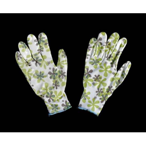 ガーデニング手袋(背抜きタイプ) レディース Mサイズ